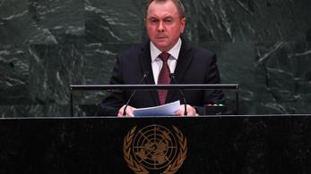 Belarusz külügyminiszter: a szankciók kárt okoznak Minszknek