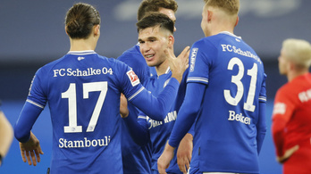Megvan a Schalke idénybeli második győzelme!