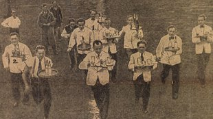 Bizarr verseny zajlott 1945 őszén a szétlőtt pesti utcákon