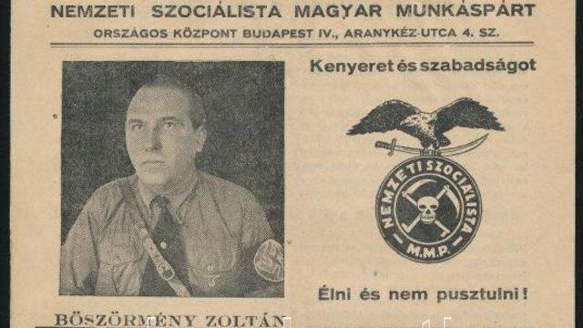 Böszörmény Zoltán és a Kaszáskeresztes Párt története