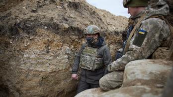 Ukrajna harmada retteg az orosz inváziótól