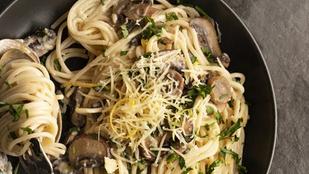 Csalános-szarvasgombás tésztaszósz – egészséges és nagyon finom vega fogás lesz a végeredmény