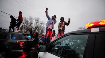 Lelőttek egy fekete férfit Minnesotában, újabb zavargások törtek ki