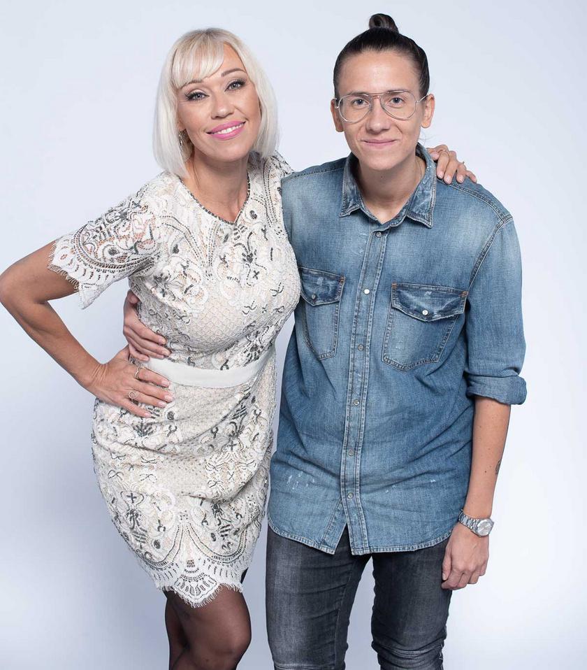 Gallusz Niki már a kapcsolatuk második napján kézen fogva sétált be egy bevásárlóközpontba Laurával, a harmadikon pedig bemutatta a színházban a kollégáinak.