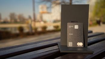 A jövő prémium bankkártyái már fémből készülnek