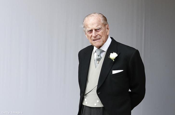 Fülöp herceg 2018 március 18-án
