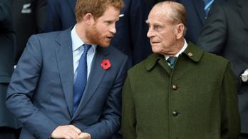 Harry herceg magát okolja, amiért nem tudott elbúcsúzni Fülöp hercegtől
