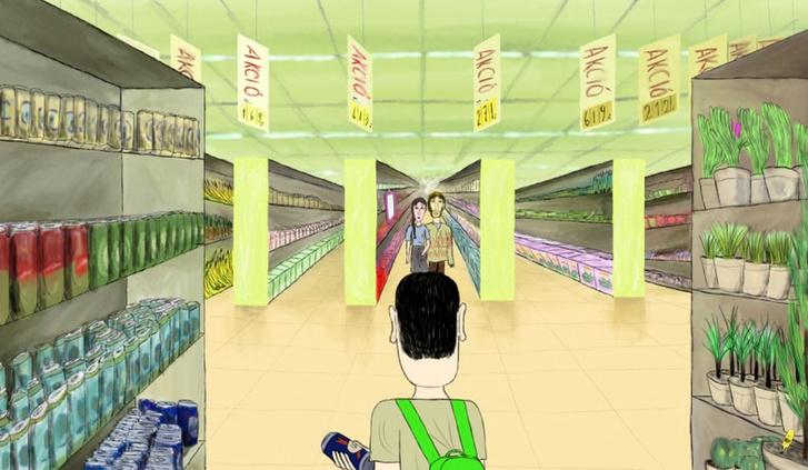 Hegyi Olivér Take Me Please című animációs filmje