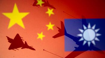 Újra megsértette Tajvan felségterületét a kínai légierő