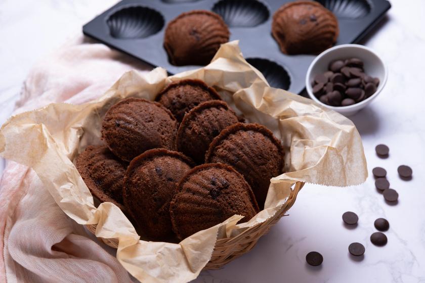 Puha, csokis francia teasütemény: egyszerűen készül a legendás madeleine