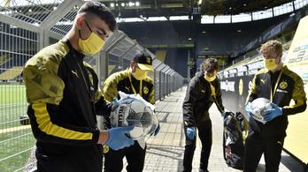 Németországban teljes futballcsapatok kerültek karanténba