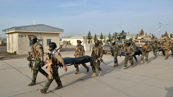Tálib fegyveresek végeztek az afgán biztonsági erők több mint húsz tagjával