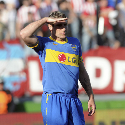 Martín Palermo a Boca Juniors mezében