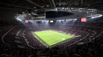 Nézők előtt rendezik a futball Eb római mérkőzéseit