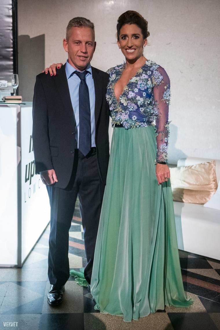 Schobert Norbert és felesége, Rubint Réka a 2020-as Story Gálán