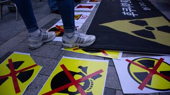Dél-Korea megakadályozná, hogy Japán az óceánba engedje a fukusimai atomerőmű radioaktív vizét