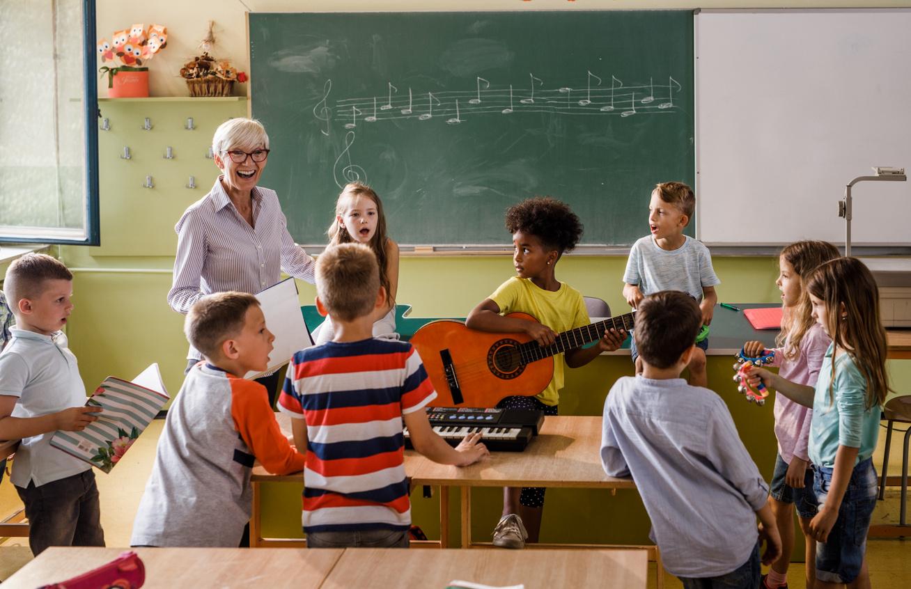 zeneóra iskola