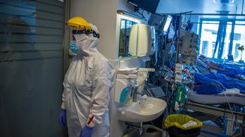 Végre tízezer alatt van a kórházban ápolt koronavírusos betegek száma