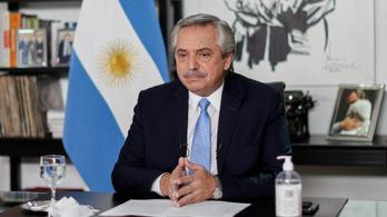 Meggyógyult az argentin elnök, aki a Szputnyik-oltás után kapta el a vírust