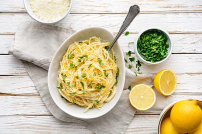 Az olaszok híres parmezános, citromos tésztája: a Pasta al Limone üde és gyors fogás