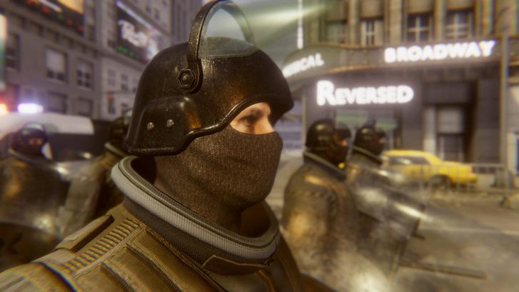 Riot Control Simulator (Forrás: Games Box S.A.)