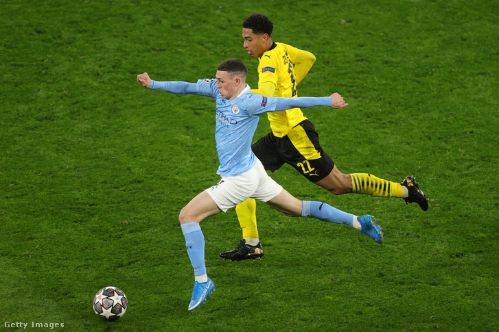 Hiába Bellingham gólja, a Manchester City jutott végül tovább