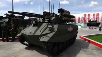 Létrejött az első orosz harci robot katonai egység