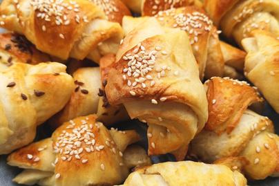 Pihe-puha kifli kefirrel a tésztájában - Egy tepsi nem elég belőle