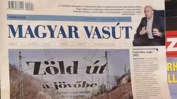 Új lap a piacon: megjelent a Magyar Vasút