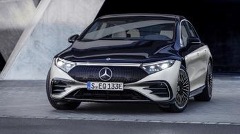 Itt az EQS, az elektromos Mercedesek csúcsa