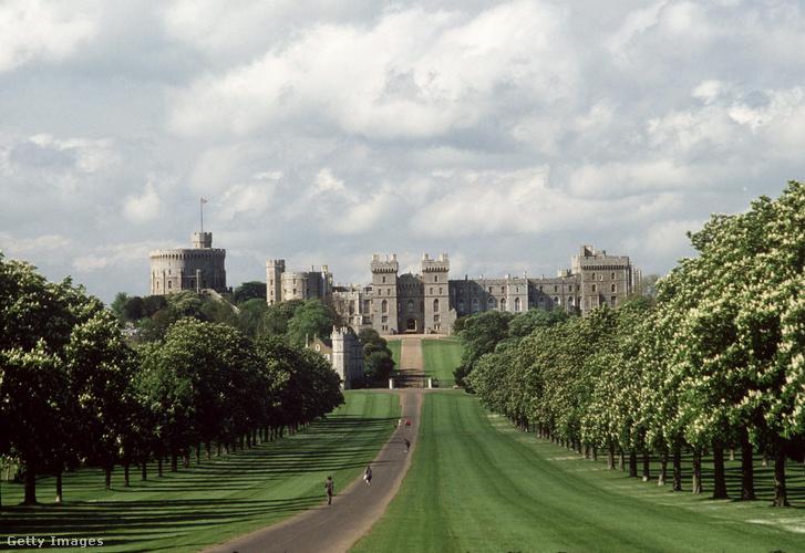 A windsori kastély és környezete