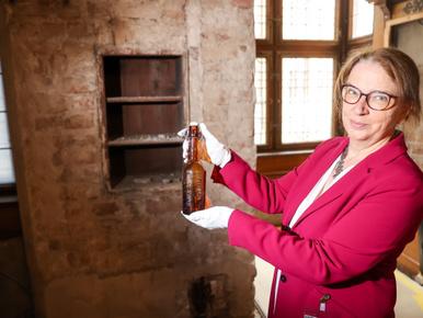 112 éves üzenetet találtak egy lipcsei felújításon