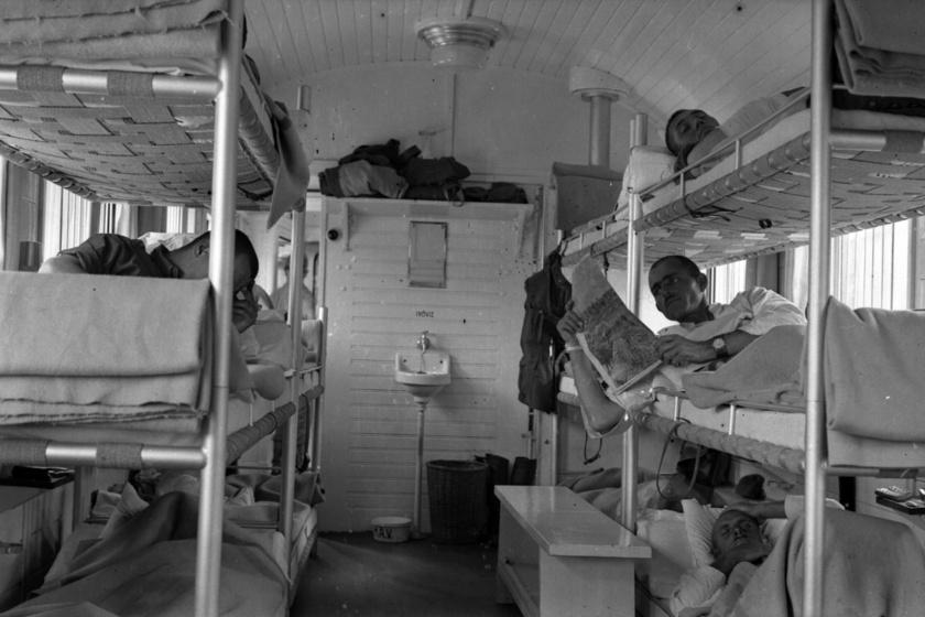 Hogy nézett ki egy magyar kórházvonat a múlt században? Itt látták el a sérülteket