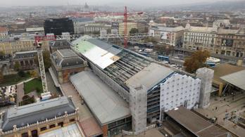 A szeptemberi tanévkezdésre elkészül a Nyugati pályaudvar felújított vágánycsarnoka