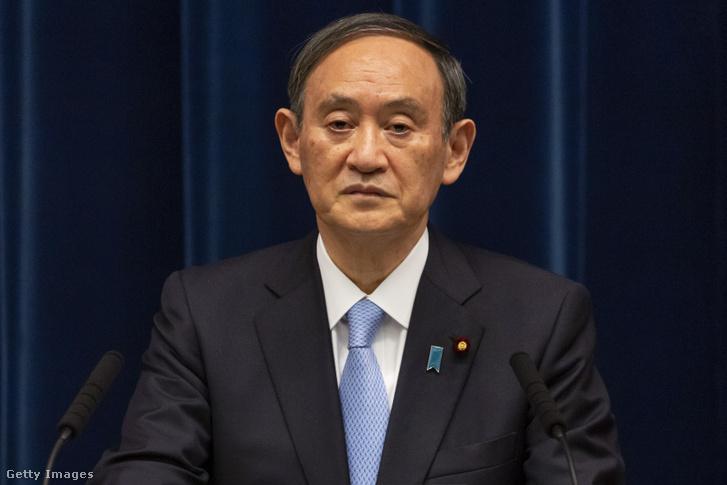 Szuga Yoshide japán miniszterelnök
