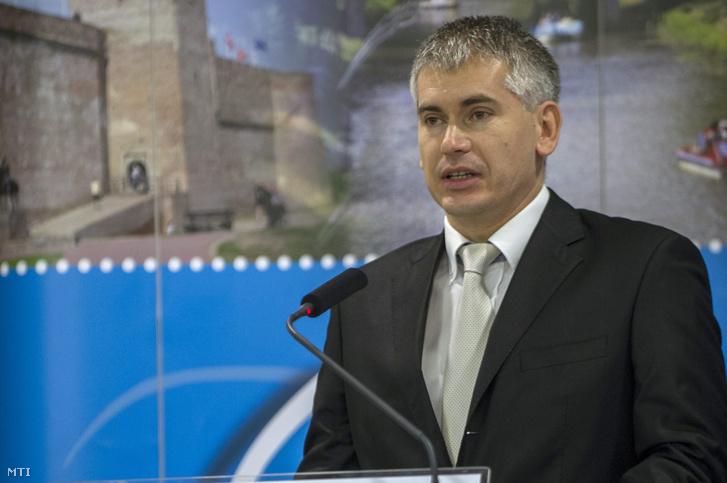 Boros László Attila 2013. december 18-án