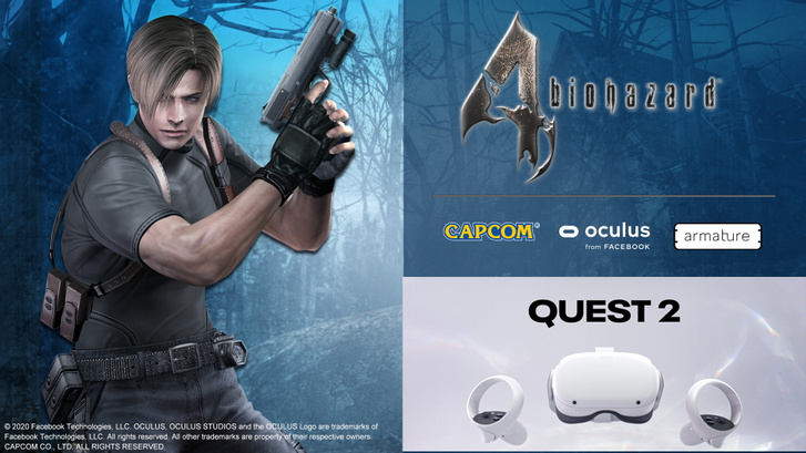 Resident Evil 4 Oculus Quest 2 (Forrás: Capcom)