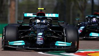 A Mercedes ismét az élen, Bottas vitte az első napot Imolában