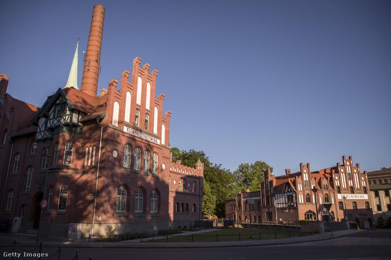 Ez pedig már Cottbus, és néhány ipari műemlék.