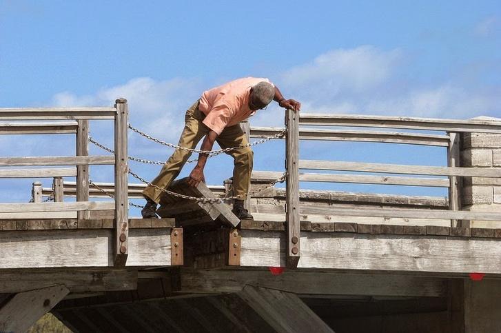 Így nyílik a híd