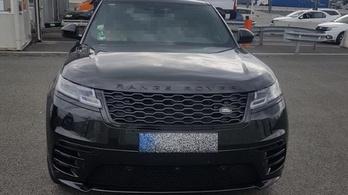Németországban ellopott luxusautó akadt fent a rendőrök hálóján Csanádpalotánál