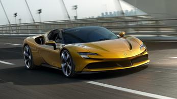Pár éven belül itt az első elektromos Ferrari