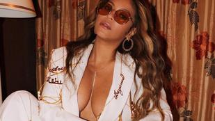 Beyoncé szülőpózban, gigadekolázzsal divatozik az Instagramon