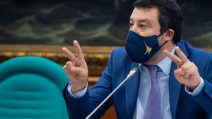 Van alapja a vádnak, bíróság elé állítják Matteo Salvinit