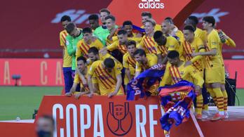 A Barcelona simán nyerte a Király-kupát