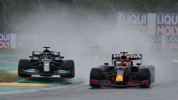 Verstappen nyert, Hamilton megmentette a versenyét Imolában – körről körre
