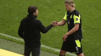 Haaland duplázott, a Dortmund továbbra is harcban áll a BL-ért