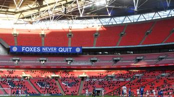 Nézők előtt jutott be a FA-kupa döntőjébe a Leicester City