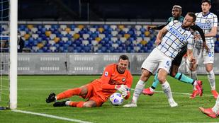 Banális potyagól miatt veszített pontokat az Inter – videó