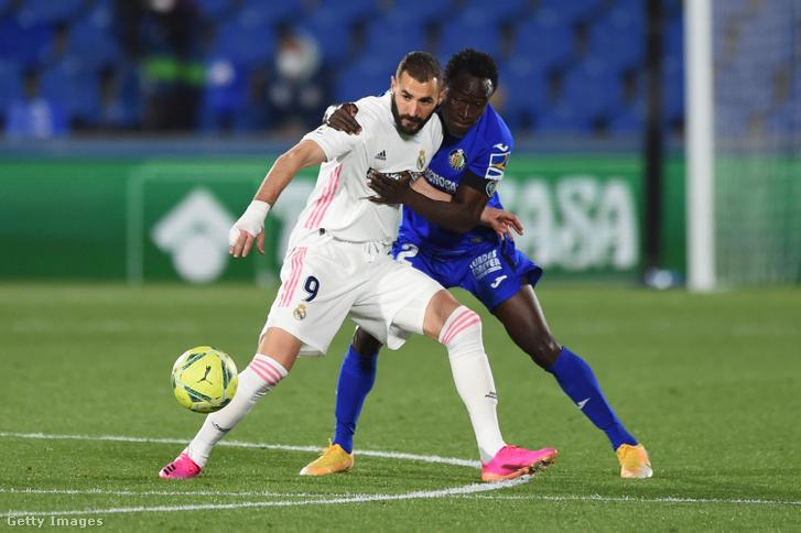 A sérült Karim Benzemának is be kellett állnia a második félidőben, de nem tudott segíteni